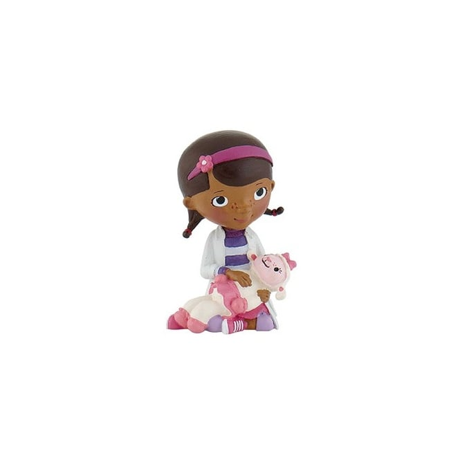 Disney Doc With Lamb - Doc McStuffins Junior Cake Figure