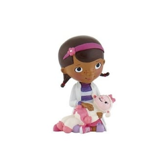 Doc With Lamb - Doc McStuffins Junior Cake Figure