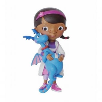 Doc With Stuffy - Doc McStuffins Junior Cake Figure