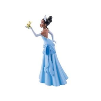 Princess Tiana With Frog - Princess And The Frog Cake Figure
