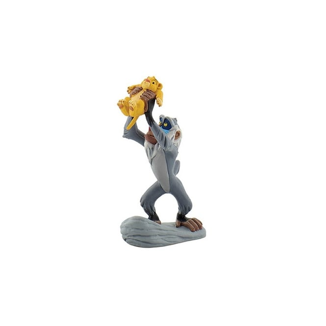 Disney Rafiki With Simba - Lion King Cake Figure