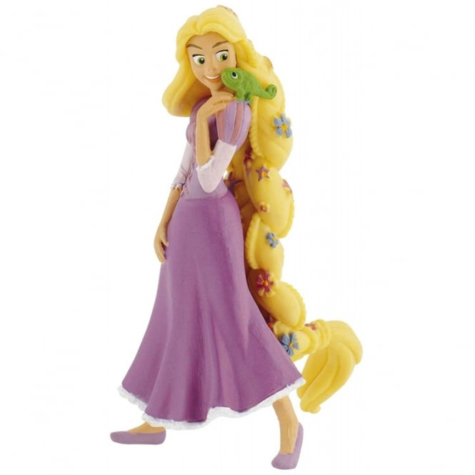 Disney Rapunzel With Flowers - Tangled Cake Figure