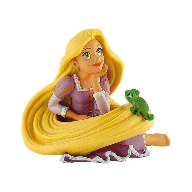 Disney Rapunzel With Pascal - Tangled Cake Figure