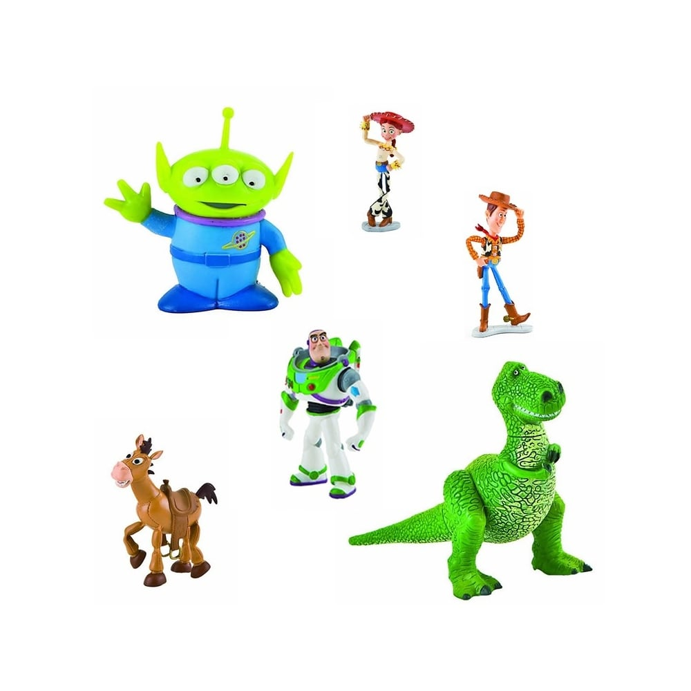 Cake Decorating Figures : Disney Set Of 6 - Toy Story Cake Figures - Cake Decorating ...