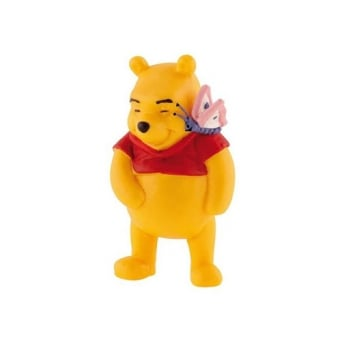 Winnie With Butterfly - Winnie The Pooh Cake Figure