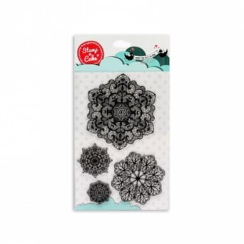 Doily Lace Stamp - Stamp-A-Cake