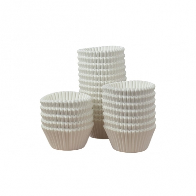 Doric Cake Craft White Muffin Baking Cases x 144