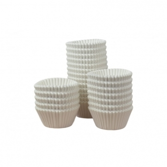 White Muffin Baking Cases x 144