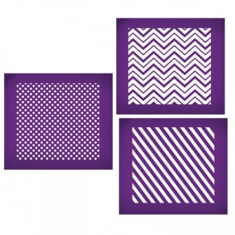 Essential Geometric Patterns Mesh Stencil