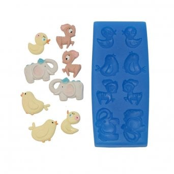 Baby Animal Set - Silicone Mould