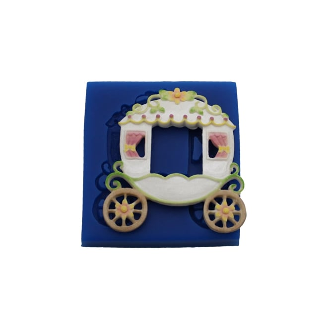 First Impression Moulds Fairy Tale Carriage - Silicone Mould