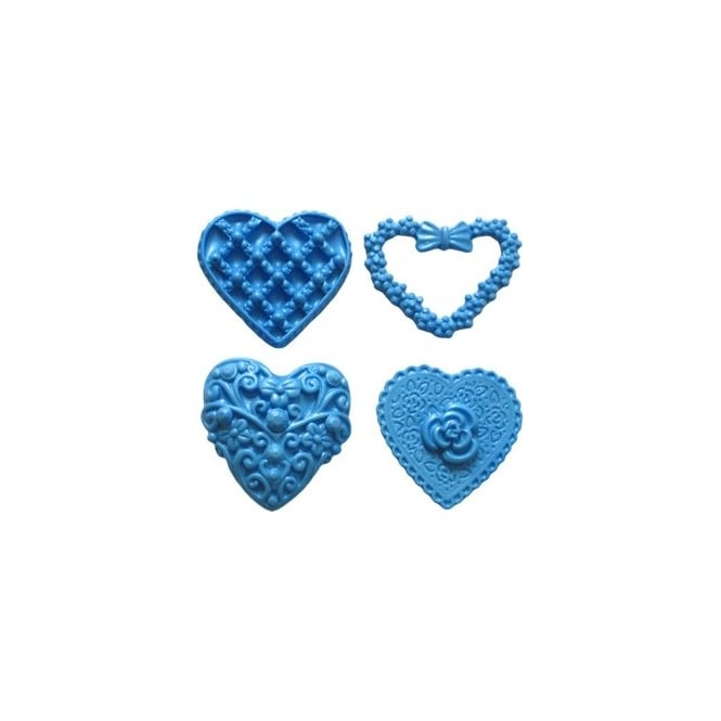First Impression Moulds Heart Set 2 – Silicone Mould