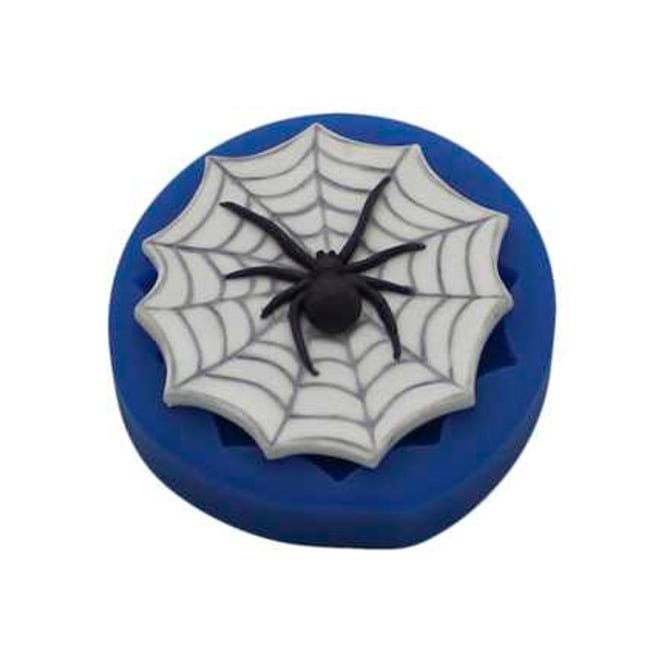 First Impression Moulds Spider In Web - Silicone Mould
