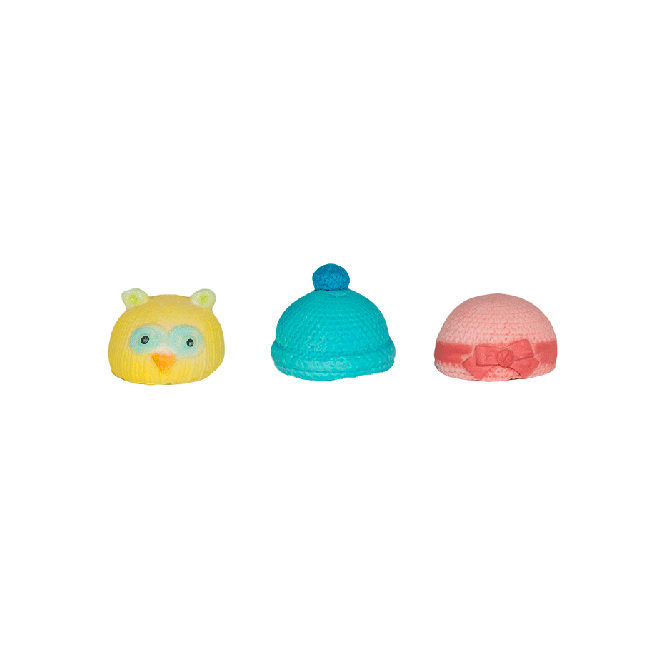 First Impression Moulds Tiny Baby Hat Set - Silicone Mould
