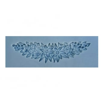 Floral Swag Mould By Sunflower Sugar Art