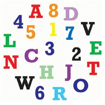 Alphabet And Numbers Tappit Cutter Set