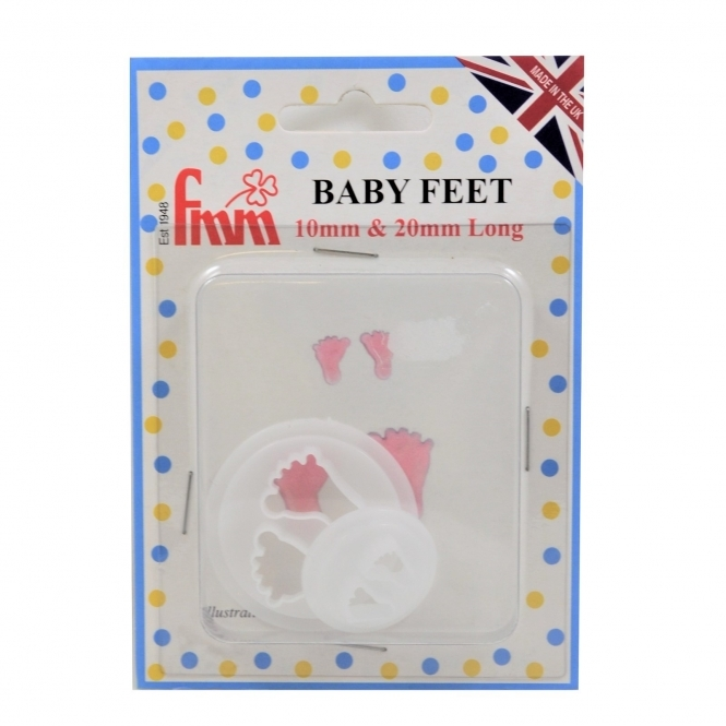 FMM Baby Feet Cutters Set Of 2