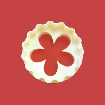 Cupcake Blossom/Scallop Double Sided Cutter