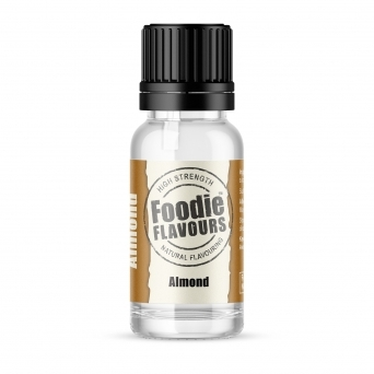 Almond - Natural Food Flavouring 15ml