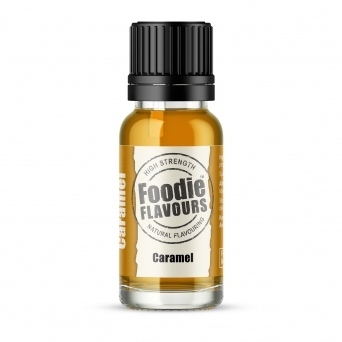 Caramel - Natural Food Flavouring 15ml