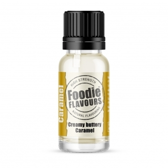Creamy Buttery Caramel - Natural Food Flavouring 15ml