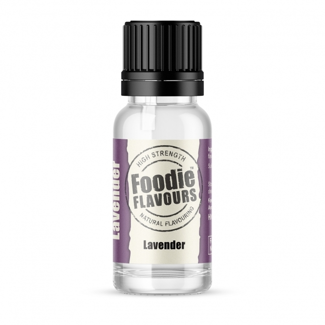 Foodie Flavours Lavender - Natural Food Flavouring 15ml