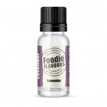 Lavender - Natural Food Flavouring 15ml
