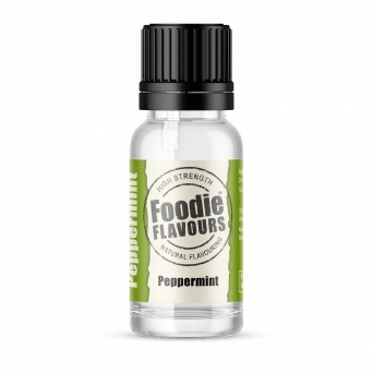 Peppermint - Natural Food Flavouring 15ml