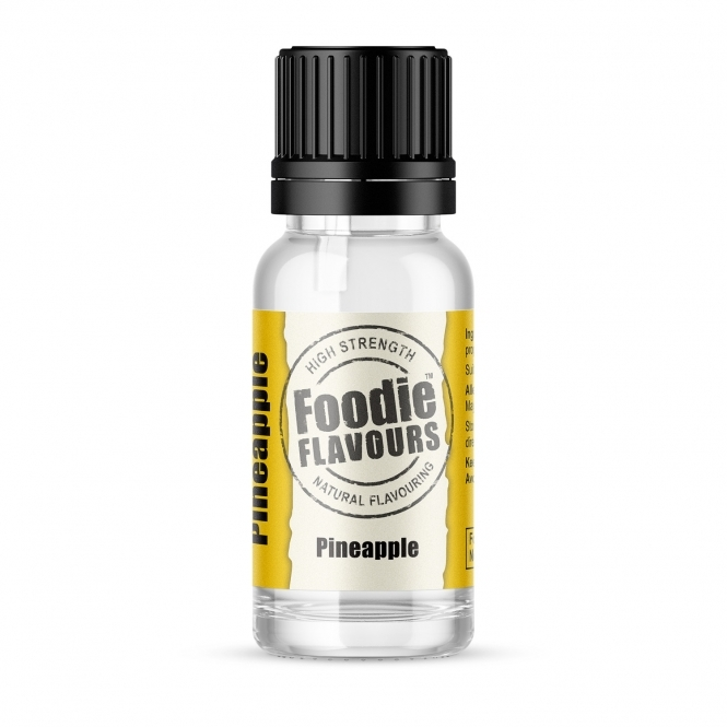 Foodie Flavours Pineapple - Natural Food Flavouring 15ml