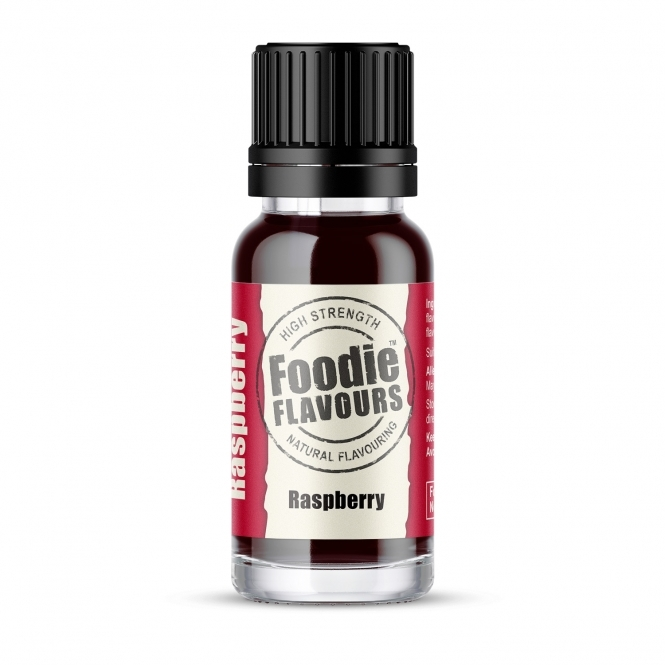 Foodie Flavours Raspberry - Natural Food Flavouring 15ml