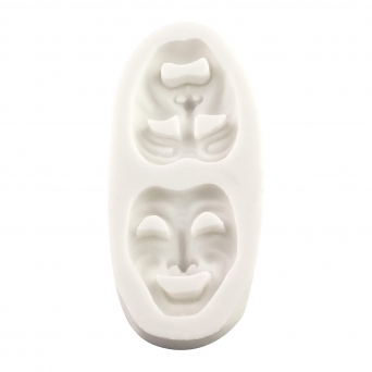 Comedy And Tragedy Theatre Masks Mould