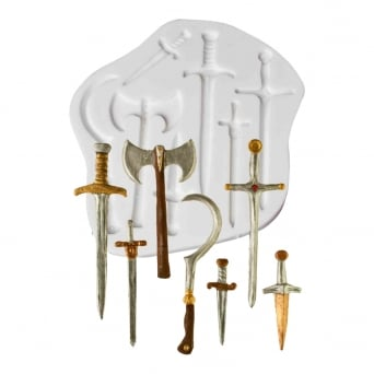 Swords And Weapons Mould