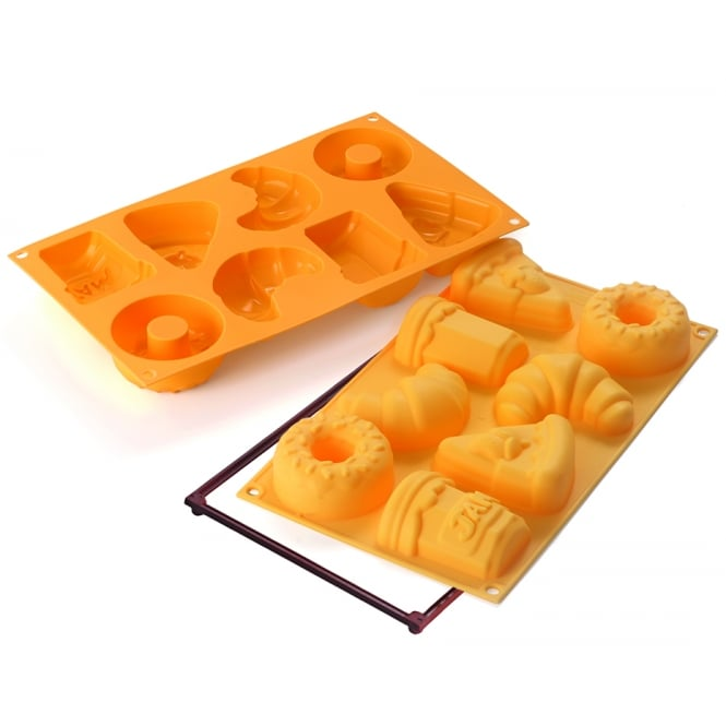 SilikoMart  Good Morning Breakfast Treats Silicone Mould By SilikoMart Fancy And Function