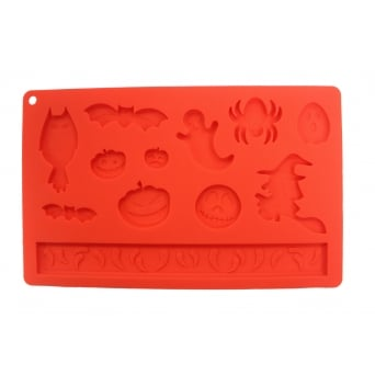 Halloween Mix Silicone Mould - Modecor