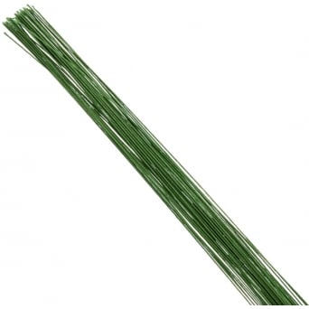 26 Gauge Metallic Green Florist Wires