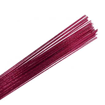 26 Gauge Metallic Hot Pink Florist Wires
