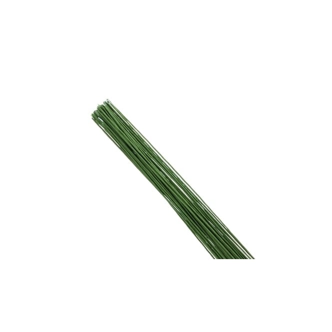 Hamilworth Dark Green - 22 Gauge Florist Wire x 25