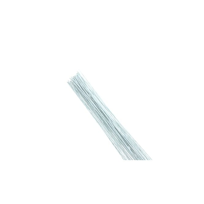 Hamilworth White - 20 Gauge Florist Wire x 25