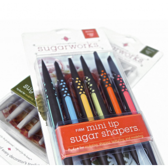 Mini Soft And Firm Tip Sugar Shaper Tools