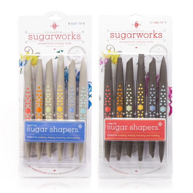 Innovative Sugarworks Soft And Firm Tip Sugar Shaper Tools