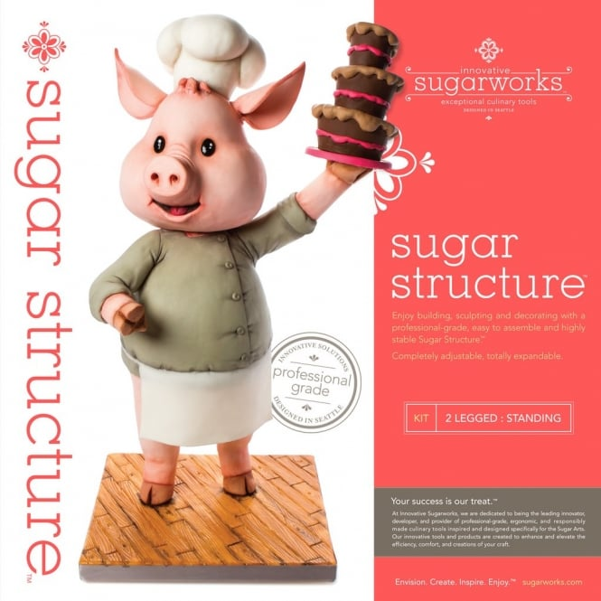 Innovative Sugarworks Standing 2 Legged Figure Armature Structure Set