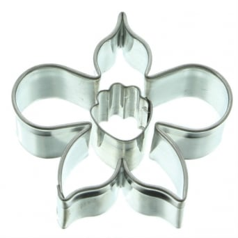 Java Orchid Flower And Throat Cutter Set By Sunflower Sugar Art