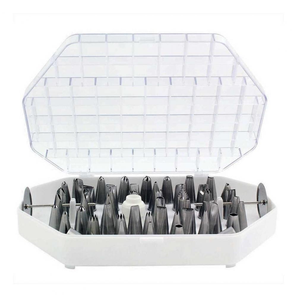 Piping Bags // Tips 15 PIECES - Cake Tools JEM CUPCAKE DECORATING SET
