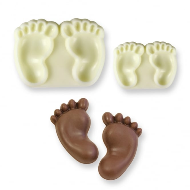 JEM Baby Feet Pop It Mould Set Of 2