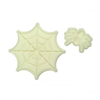 Spider And Web Pop It Mould Set Of 2