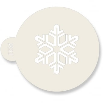 Snowflakes Stencil Set Of 3