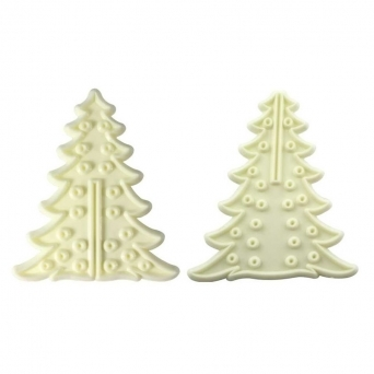 3D Christmas Tree Set Of 8 By JEM Cutters