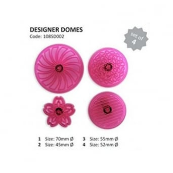 Designer Domes Stencil Set Of 4 By Jem Cutters