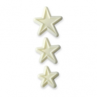 Funky Star Set Cutters - Pack Of 3 By JEM Cutters