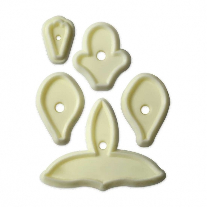 JEM Singapore And Baby Orchid Cutter Set Of 8 By Cutters